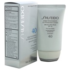 Shiseido Urban Environment UV Protection Cream Broad Spectrum SPF 40 For Face Sunscreen