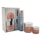 Clinique Clinique Best Sellers Treatment Set - All Skin Types 1.7oz Moisture Surge Extended Thirst Relief, 1oz Turnaround Revitalizing Serum, 0.5oz All About Eyes