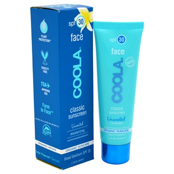 Coola Classic Face Sunscreen Moisturizer SPF 30 - Unscented
