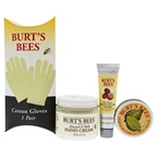 Burt's Bees Burt's Bees Hand Repair Kit 2oz Almond & Milk Hand Cream, 0.60oz Lemon Butter Cuticle Cream, 0.50oz Shea Butter Hand Repair Cream, Cotton Gloves