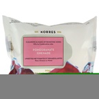 Korres Pomegranate Cleansing & Makeup Removing Wipes