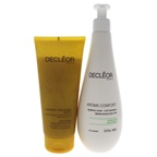 Decleor Sublime Body Duo 6.7oz Body Exfoliator, 13.5oz Aroma Confort Moisturising Body Milk