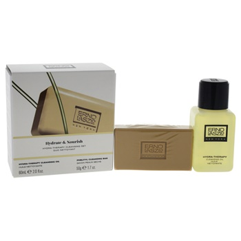 Erno Laszlo Hydra-Therapy Cleansing Set 2oz Hydra-Therapy Cleansing Oil, 1oz Phelityl Cleansing Bar