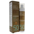 Korres Tinted Sunscreen Face Cream Red Grape SPF50