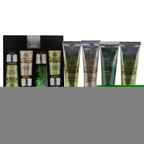 The Body Shop The Expert Hand Care Collection 2 x 1oz Hemp Hard-Workin Hand Protector, 1oz Almond Hand & Nail Manicure Cream, 1oz Absinthe Purifying Hand Cream