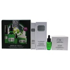 The Body Shop Drops of Youth Kit 0.3oz Youth Eye Concentrate, 1.69oz Youth Concentrate 0.2oz Mini Youth Concentrate, 1.7oz Youth Cream