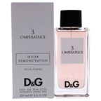 Dolce & Gabbana D and G LImperatrice 3 EDT Spray (Tester)