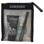 Cowshed Cow Slip Manicure Kit 1.69oz Cow Slip Hand Cream, 0.3oz Apricot Cuticle Oil, 100% Cotton Moisture Cloves, Emery Board, Cuticle Stick