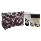 Cowshed Knackered Cow Relaxing Discovery Bag 1.69oz Bath & Shower Gel, 1.69oz Shower Scrub, 1.69oz Body Lotion & Gift Travel Pouch