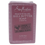 Shea Moisture Peace Rose Oil Shea Butter Soap - Dry Skin Bar Soap