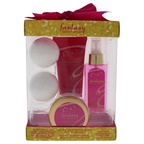 Britney Spears Fantasy 3.4oz Hair Mist, 3.3oz Body Wash, 2.7oz Body Butter, 2 x 2.65oz Fragrant Bath Fizzes