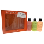 Philosophy Congrats! 3 x 6oz Shampoo, Shower Gel & Bubble Bath - Senorita Margarita, Melon Daiquiri, Bubbly