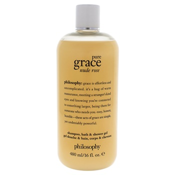 Philosophy Pure Grace Nude Rose Shampoo Bath and Shower Gel