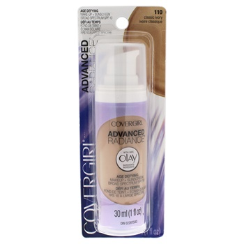 Covergirl Advanced Radiance Age-Defying SPF 10 Foundation - # 110 Classic Ivory