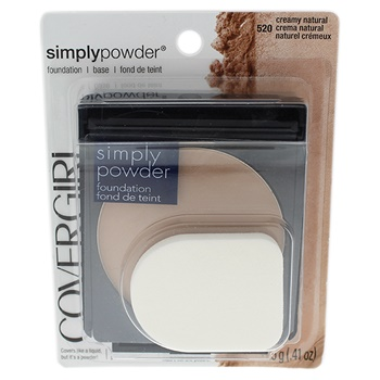 Covergirl Simply Powder Foundation - # 520 Creamy Natural