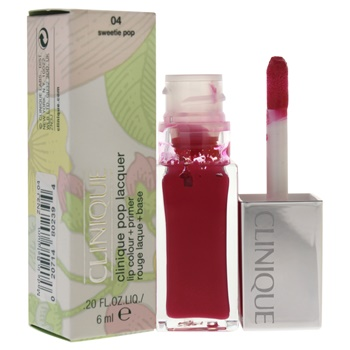 Clinique Clinique Pop Lacquer Lip Colour + Primer # 04 Sweetie Pop Lip Gloss