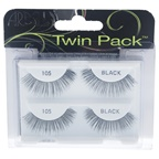 Ardell Twin Pack Lashes - # 105 Black Eyelashes