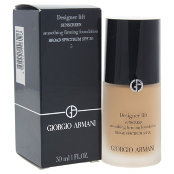 Giorgio Armani Designer Lift Smoothing Firming Foundation SPF 20 - # 5 Medium/Neutral
