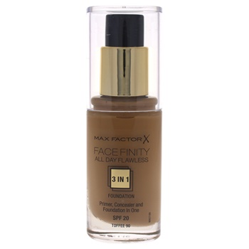 Max Factor Facefinity All Day Flawless 3 In 1 Foundation SPF20 - # 90 Toffee
