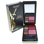 Yves Saint Laurent Very YSL Black Edition Makeup Palette 4 x 0.04oz Powder Eye Shadows Brun, Peche, Cuivre, Taupe, 2 x 0.05oz Solid Lipcolours, 0.16oz Powder Blusher