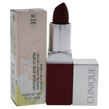 Clinique Clinique Pop Matte Lip Colour + Primer - # 02 Icon Pop Lipstick