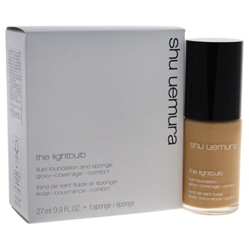 Shu Uemura The Lightbulb Set 0.9oz Fluid Foundation - # 754 Medium Beige, The Lightbulb Sponge