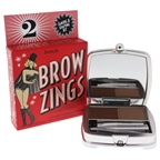 Benefit Cosmetics Brow Zings Tame & Shape Kit - #2 Light 0.06oz Soft Pigmented Wax, 0.09oz Natural-shaded Powder, Dual-ended Brush, Mini Slant Tweezers