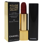 Chanel Rouge Allure Velvet Luminous Matte Lip Colour - 56 Rouge Charnel Lipstick