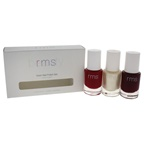 RMS Beauty Vixen Nail Polish Set 0.30oz Infamous, 0.30oz Luminizer X, 0.30oz Vicious
