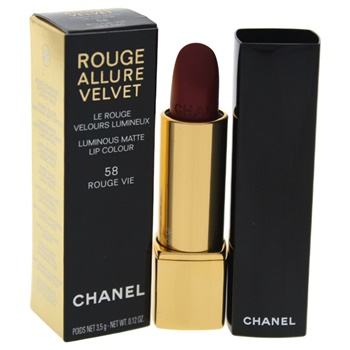 Chanel Rouge Allure Velvet Luminous Matte Lip Colour - # 58 Rouge Vie Lipstick