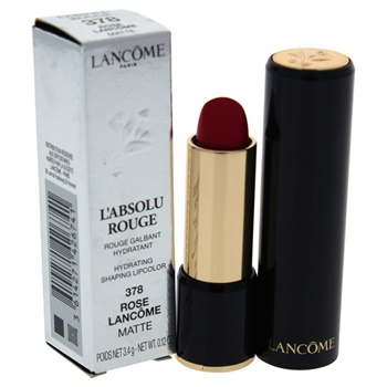 Lancome L'Absolu Rouge Hydrating Shaping Lipcolor - # 378 Rose Lancome - Matte Lipstick