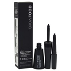 LashFood BrowFood Aqua Brow Powder & Pencil Duo - Charcoal 0.035oz Brow Powder, 0.005oz Pencil