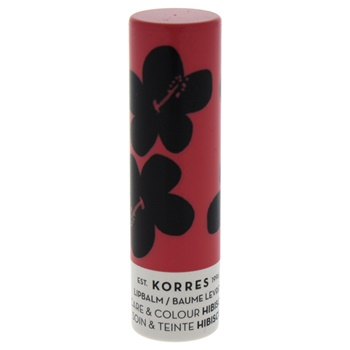 Korres Lip Balm Care and Colour Stick - Hibiscus