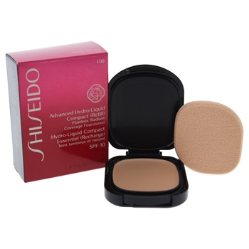 Shiseido Advanced Hydro-Liquid Compact SPF 10 - # I00 Very Light Ivory Foundation (Refill)