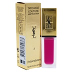 Yves Saint Laurent Tatouage Couture Liquid Matte Lip Stain - 3 Rose Ink Lip Gloss