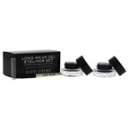 Bobbi Brown Long-Wear Gel Eyeliner Set - Black Ink 2 x 0.1oz Long-Wear Gel Eyeliner - Black Ink, Ultra Fine Eye Liner Brush