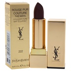 Yves Saint Laurent Rouge Pur Couture The Mats - # 222 Black Red Code Lipstick