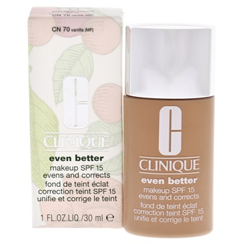 Clinique Even Better Makeup SPF 15 - # 70 Vanilla (MF-G) - Dry To Combination Oily Skin Foundation