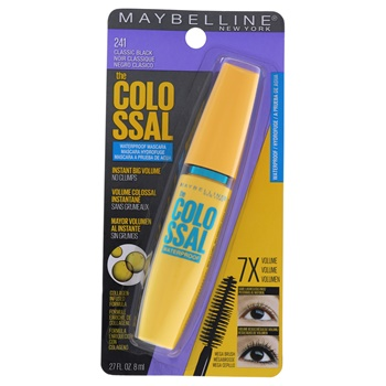 Maybelline The Colossal Volum Express Waterproof Mascara - 241 Classic Black