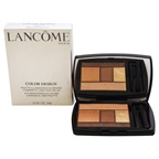 Lancome Color Design 5 Shadow & Liner Palette - # 101 Bronze Amour 5 x 0.14oz All Over Base Base, Lid Paupiere, Crease Creux, Highlighter Illuminateur, liner Countour