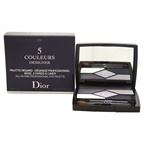 Christian Dior 5 Couleurs Designer All-In-One Professional Eye Palette - # 208 Navy Design