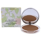 Clinique Stay-Matte Sheer Pressed Powder - # 04 Stay Honey (M) - Dry Combination To Oily