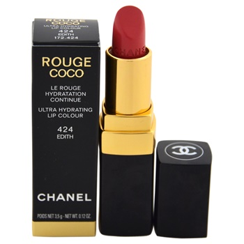Chanel Rouge Coco Shine Hydrating Sheer Lipshine - # 424 Edith Lipstick (Limited Edition)