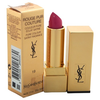 Yves Saint Laurent Rouge Pur Couture Pure Colour Satiny Radiance Lipstick - # 19 Fuchsia