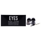 Bobbi Brown Long-Wear Gel Eyeliner Set 0.1oz Long-Wear Gel Eyeliner - Black Ink , 0.1oz Long-Wear Gel Eyeliner - Sepia Ink, Ultra Fine Eyeliner Brush