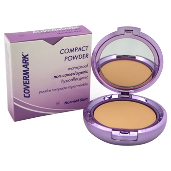 Covermark Compact Powder Waterproof - # 1A - Normal Skin