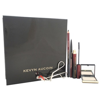 Kevyn Aucoin The Best of Kit The Eyelash Curler, 0.18oz The Volume Mascara - Black, 0.04oz The Eye Pencil Primatif - Basic Black, 0.003oz The Precision Brow Pencil - Brunette, 0.125oz The Eye Shadow Single - # 102