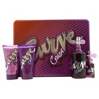 Liz Claiborne Curve Crush 3.4oz EDT Spray, 15ml EDT Purse Spray, 2.5oz Body Lotion, 2.5oz Bath and Shower Gel