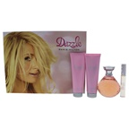 Paris Hilton Dazzle 4.2oz EDP Spray, 0.34oz EDP Rollerball, 3oz Body Lotion, 3oz Bath & Shower Gel
