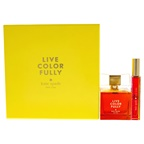 Kate Spade Live Colorfully Fragrance Set 3.4oz EDP Spray, 0.34oz Roller-on